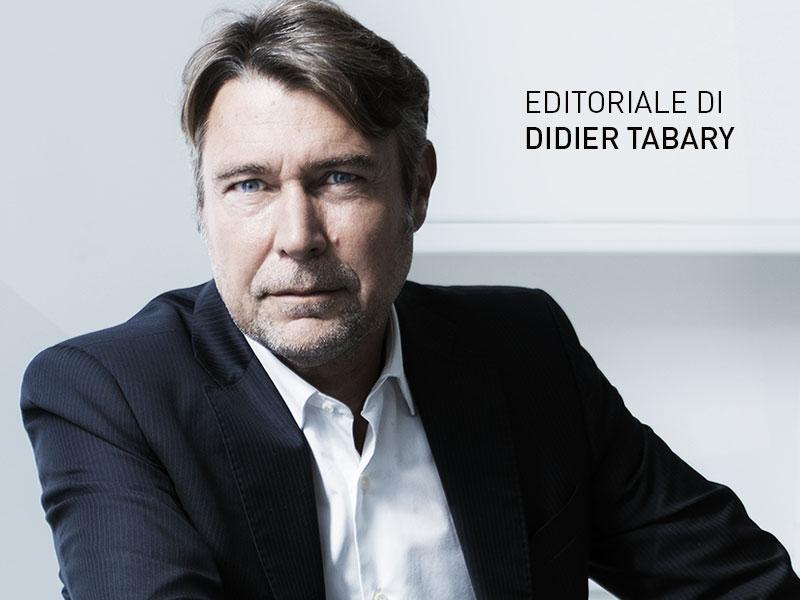L'EDITORIALE DI DIDIER TABARY
