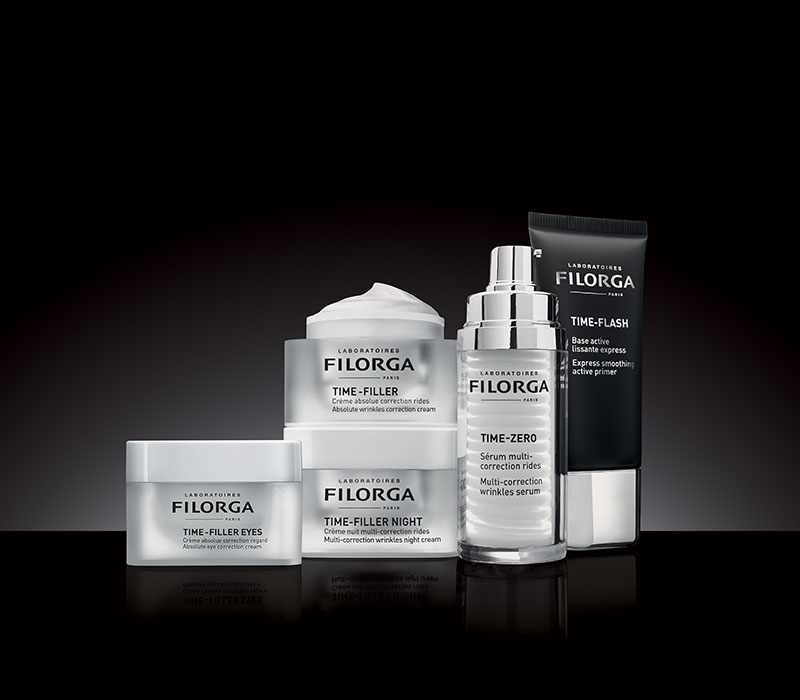 ANTI-WRINKLE ACTION!<br><b>TIME-FILLER<sup>®</sup></b>