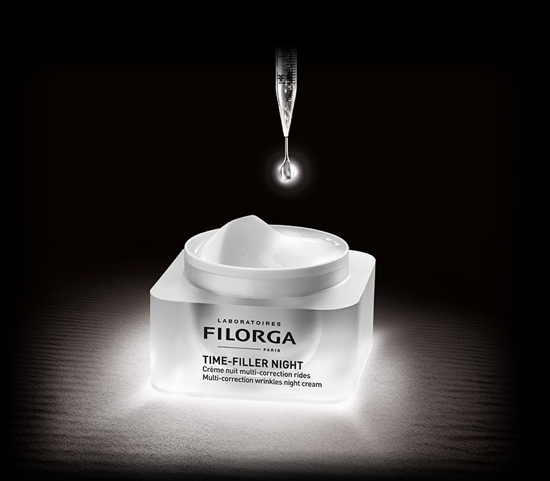 TIME-FILLER NIGHT<br/><strong>Multi-Correction Wrinkles Night Cream</strong>